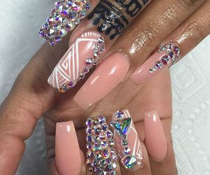 colorful, jewelry, and nail inspiration! image