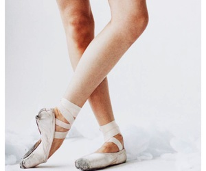 ballerina, ballet shoes, and dance image