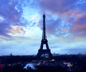 paris, beautiful, and eiffel tower image