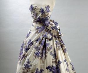 1955, blue, and Christian Dior image