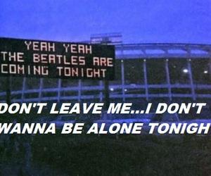 beatles, concert, and Lyrics image