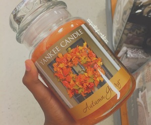 candle, fall, and love image
