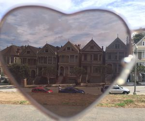 san francisco, usa, and painted ladies image