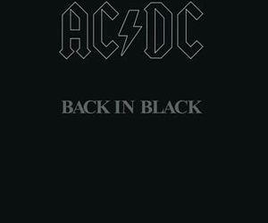 ACDC, ac dc, and black image