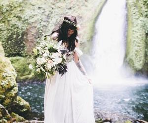 natural, romantic, and wedding image