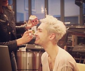bill kaulitz, blonde, and junkie image