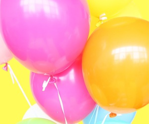 pastels and balloons image