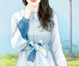 beautiful, illustration, and korean image