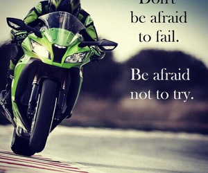 motorbike, afraid, and fail image