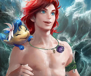 ariel, illustration, and once upon a time image