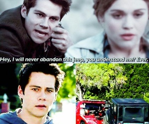 teen wolf, jeep, and lydia image