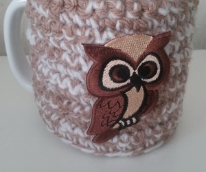 coffee, crochet, and mug image