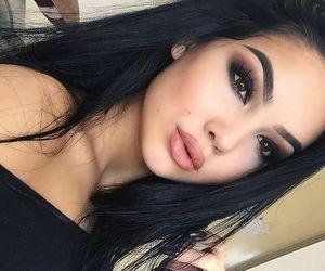girl, hair, and make up image