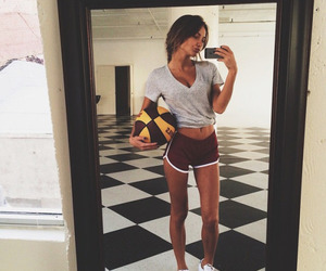 girl, sport, and body image