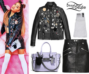 outfit, style, and ariana image