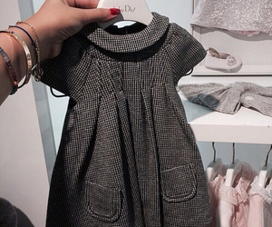 baby, dress, and fashion image