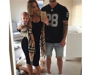 family and baby image