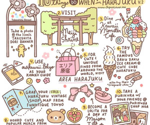 japan, Harajuku, and kawaii image