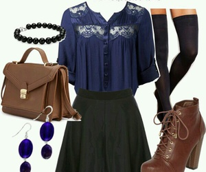 outfit, fashion, and teen wolf image