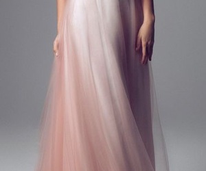 dress, gown, and Prom image