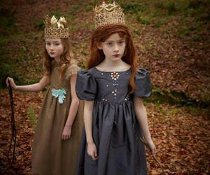 girl, crown, and cute image