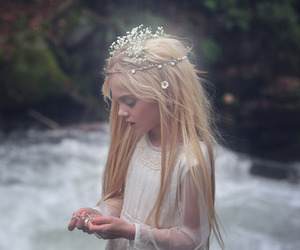 girl, fairy, and beauty image