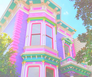 barbie, dream house, and bright image