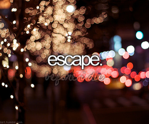 escape, before i die, and light image