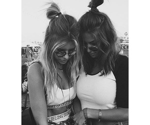 hair, friends, and coachella image