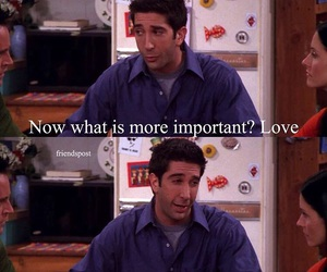ross, friends, and f.r.i.e.n.d.s image