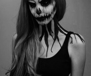 makeup, jack skellington, and the nightmare before christmas image