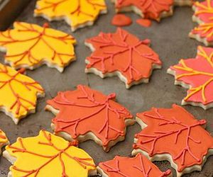 food, autumn, and Cookies image