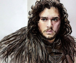 art, drawing, and game of thrones image