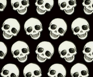 black, wallpapers, and calaveras image