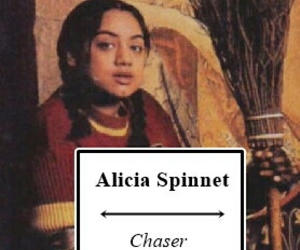 harry potter and alicia spinnet image