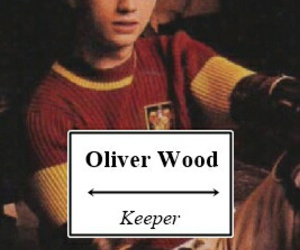 harry potter and oliver wood image