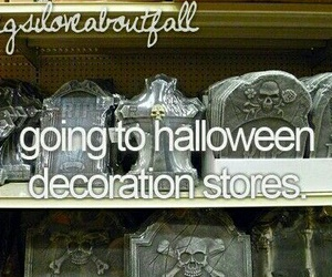 decorations, Halloween, and stores image