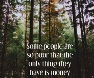 money, quote, and poor image