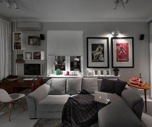 apartment, living room, and interior design image
