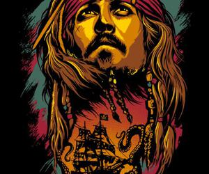 disney, jack sparrow, and johnny deep image
