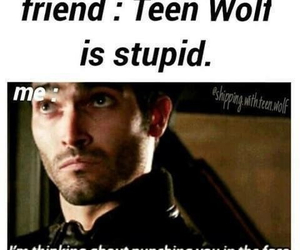 teen wolf, derek hale, and funny image