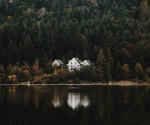 architecture, autumn, and house image