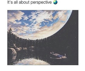 happy, perspective, and space image