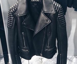 fashion, jacket, and black image