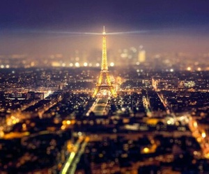 paris, night, and city image