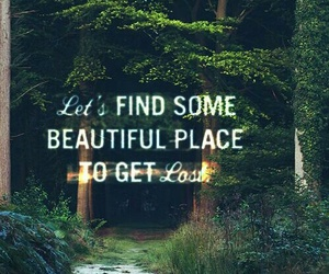 adventure, beautiful, and place image