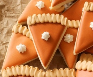 crust, pumpkin, and whipping cream image