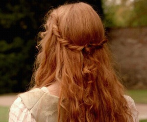 hair, ginger, and red hair image