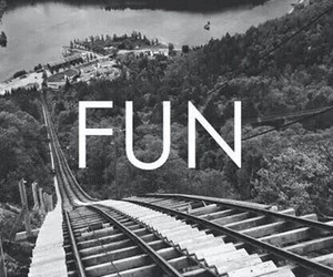 black, black and white, and fun image