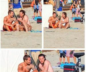 ben, taylor kitsch, and savages image
